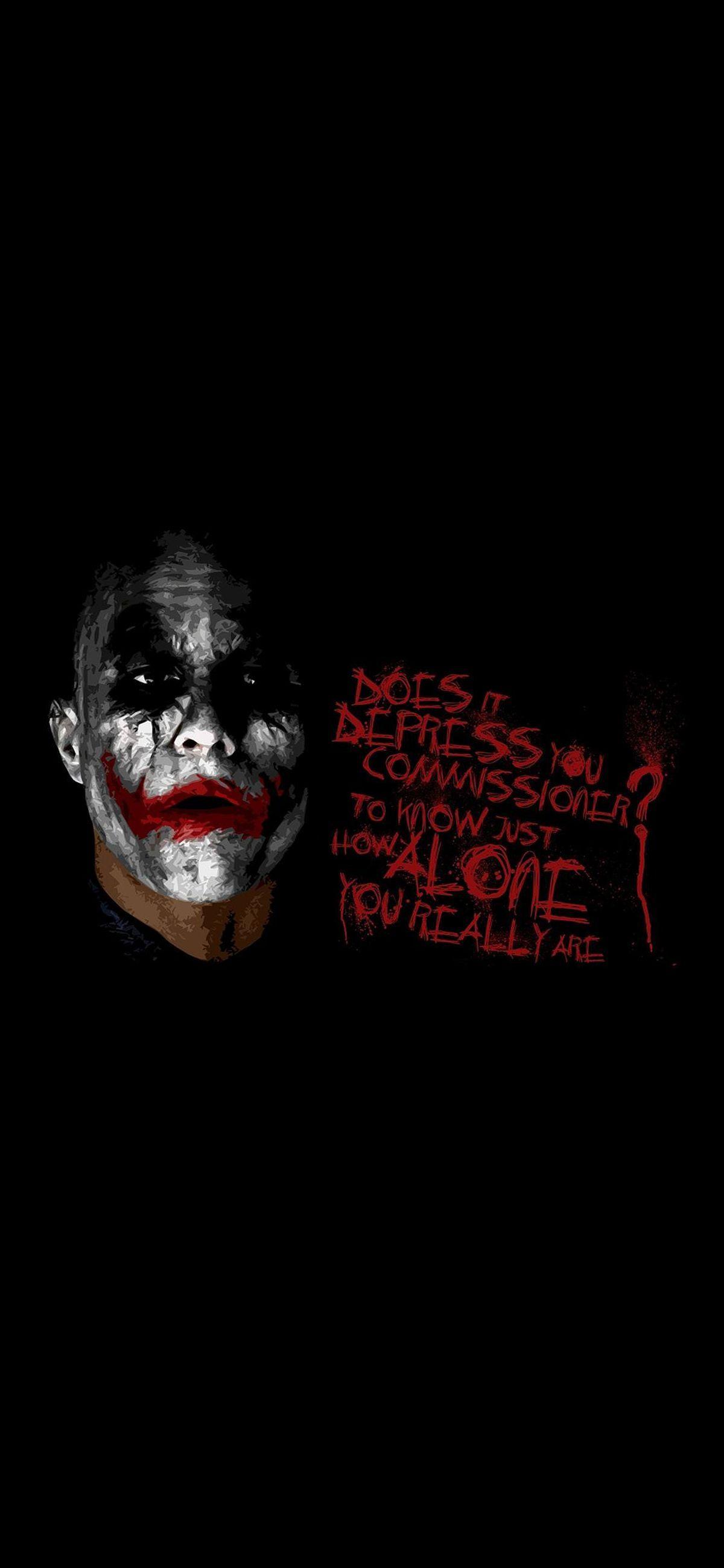 Iphone X Wallpapers 35 Great Images For An Amoled Screen Joker Wallpapers Joker Background Joker