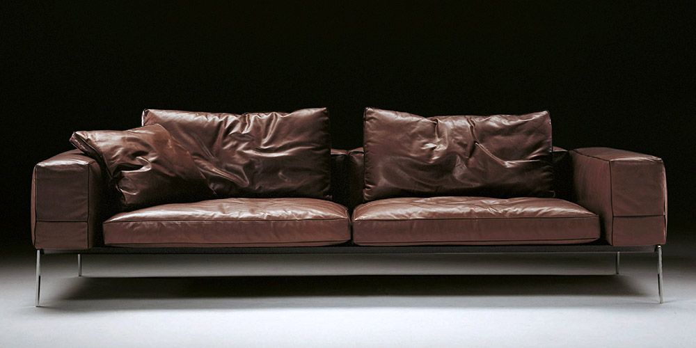 Houston 3 Seater Leather Sofa | Lobby (aps) in 2019 | Sofa ...