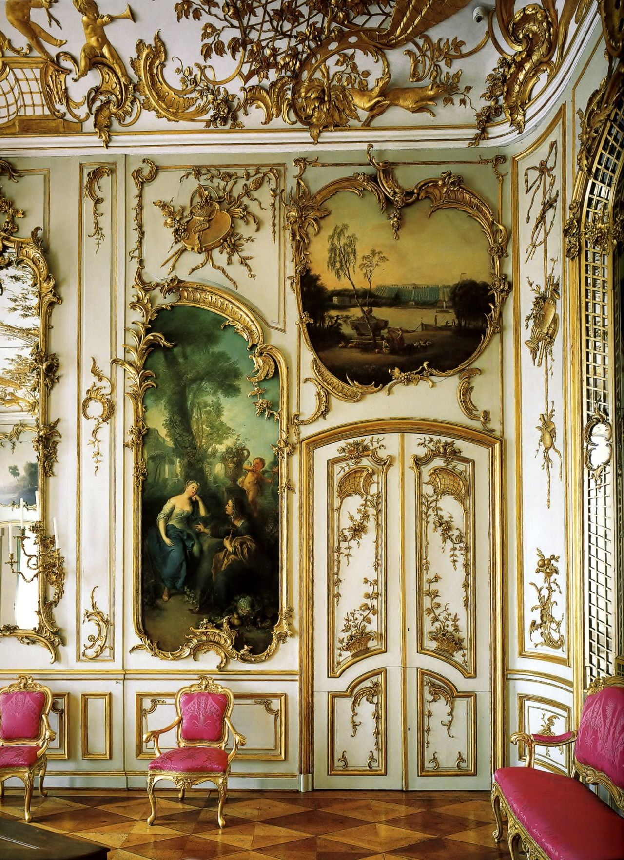 baroque interior baroque rococco art and architecture. Black Bedroom Furniture Sets. Home Design Ideas