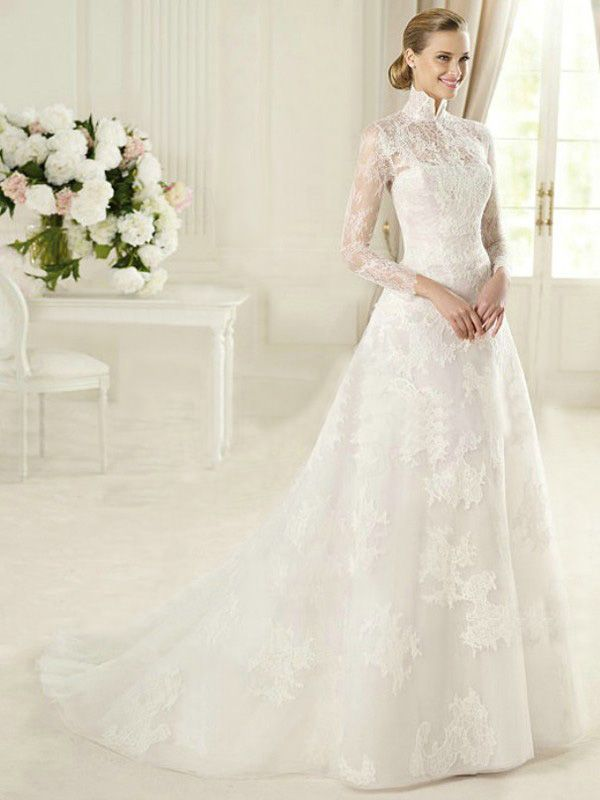 Victorian Lace Wedding Dresses Simple