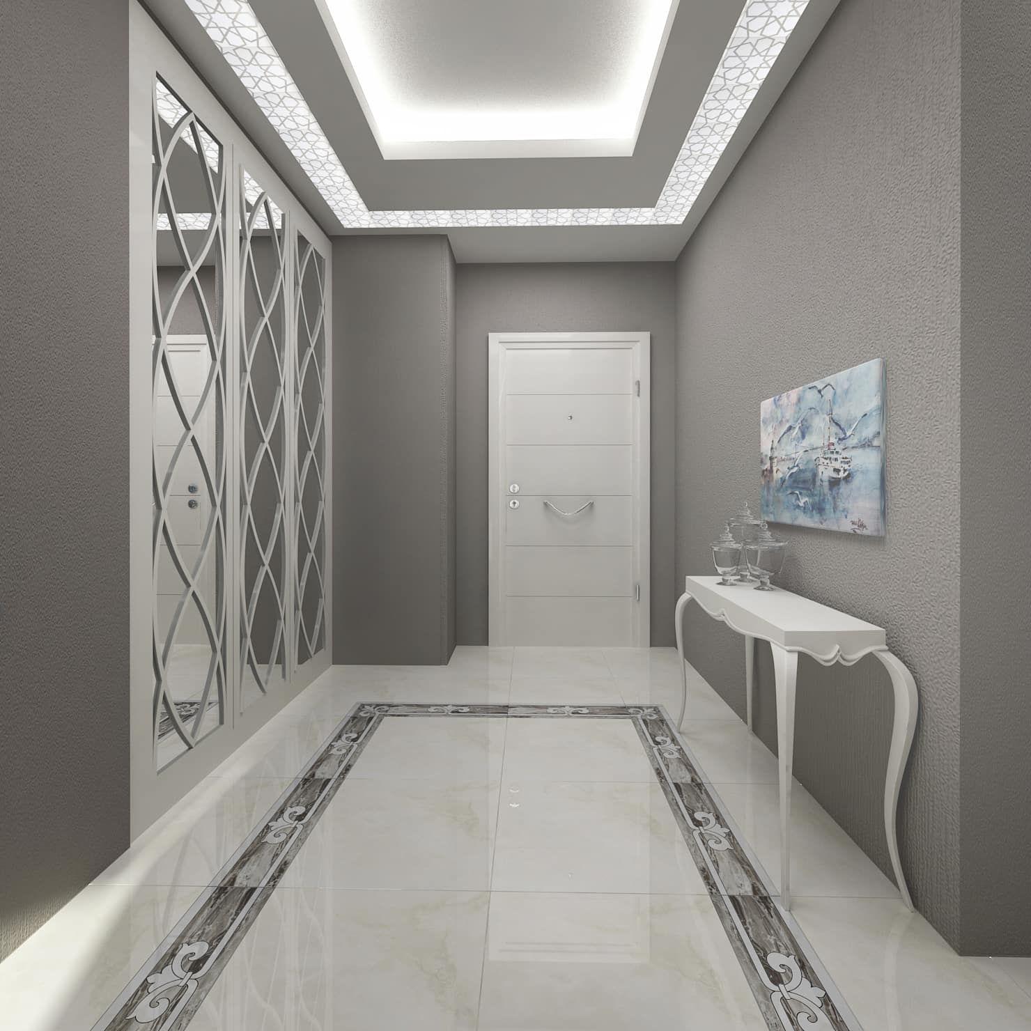 Gold towers konut modern koridor, hol & merdivenler treso i̇ç mimarlık modern | homify #decorationentree
