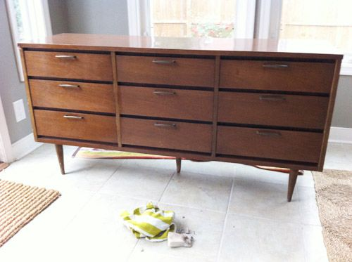 How To Clean And Restore Old Wood Furniture   Painting old ...