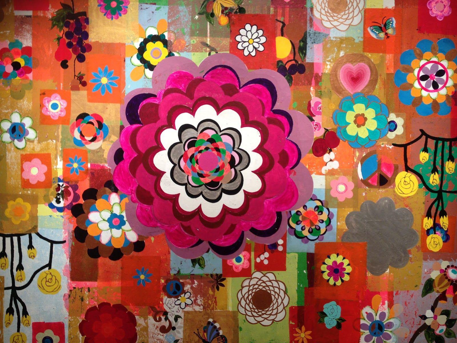 beatriz milhazes | arte | Pinterest | Flower artwork ...