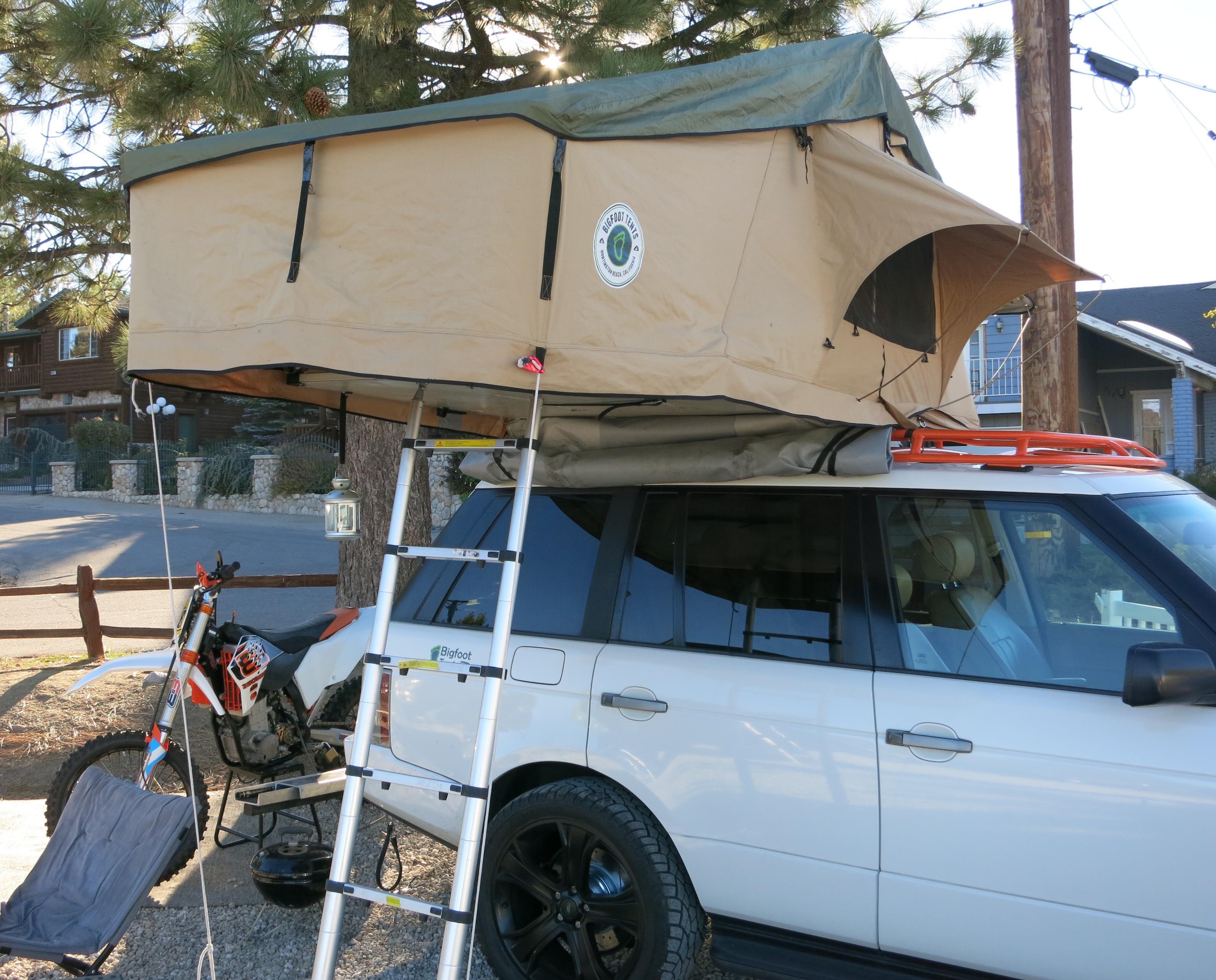 Car tent auto top tent rooftop tent www bigfoottents com