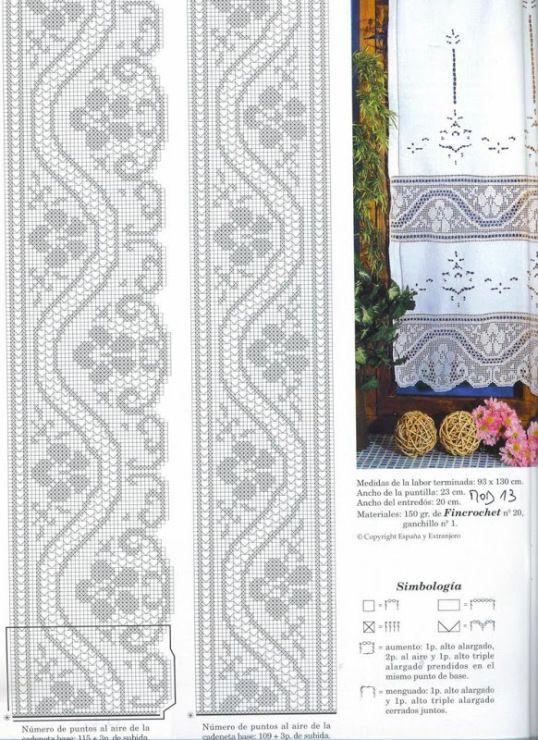 Gallery.ru / Фото #81 - 7676 - ergoxeiro | filet crochet | Pinterest ...