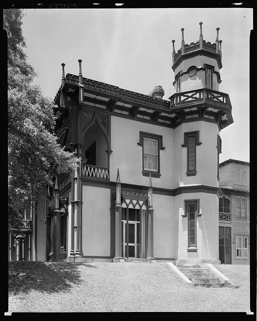 Afton Villa, St. Francisville Vic., W. Feliciana Parish