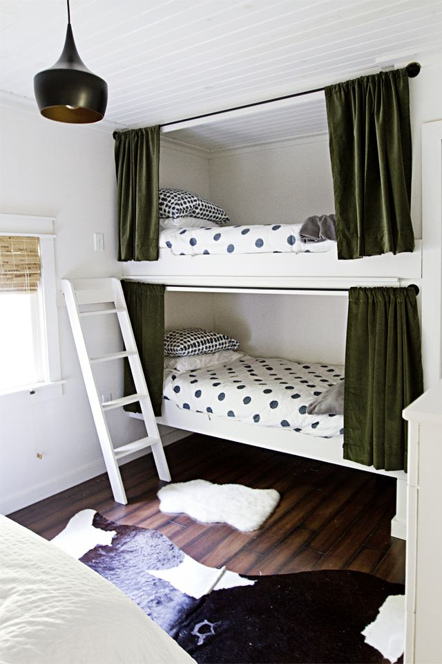 cabin bedroom tour + before & after