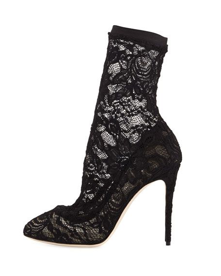Lace sock boots Dolce & Gabbana Best Authentic Free Shipping Store Clearance Supply 8eEy33hz9a