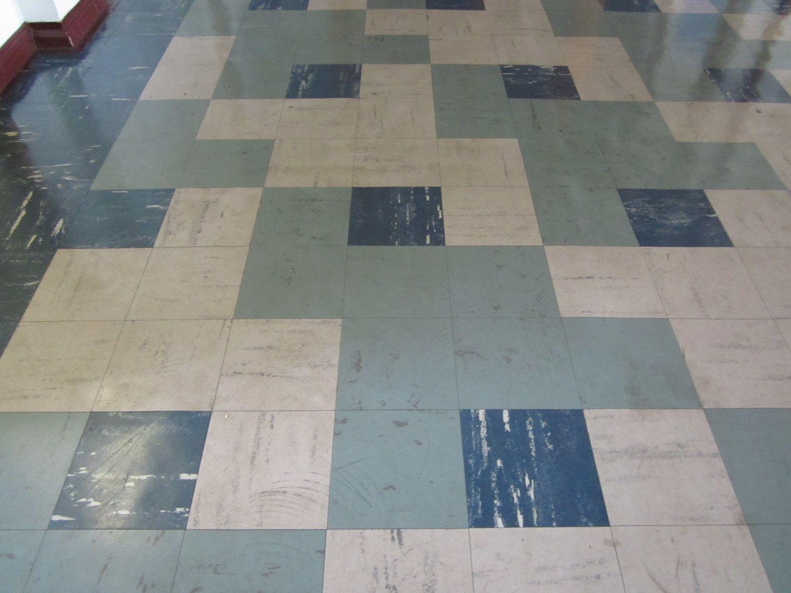 Asbestos containing vinyl tiles Tile floor, Vinyl tiles