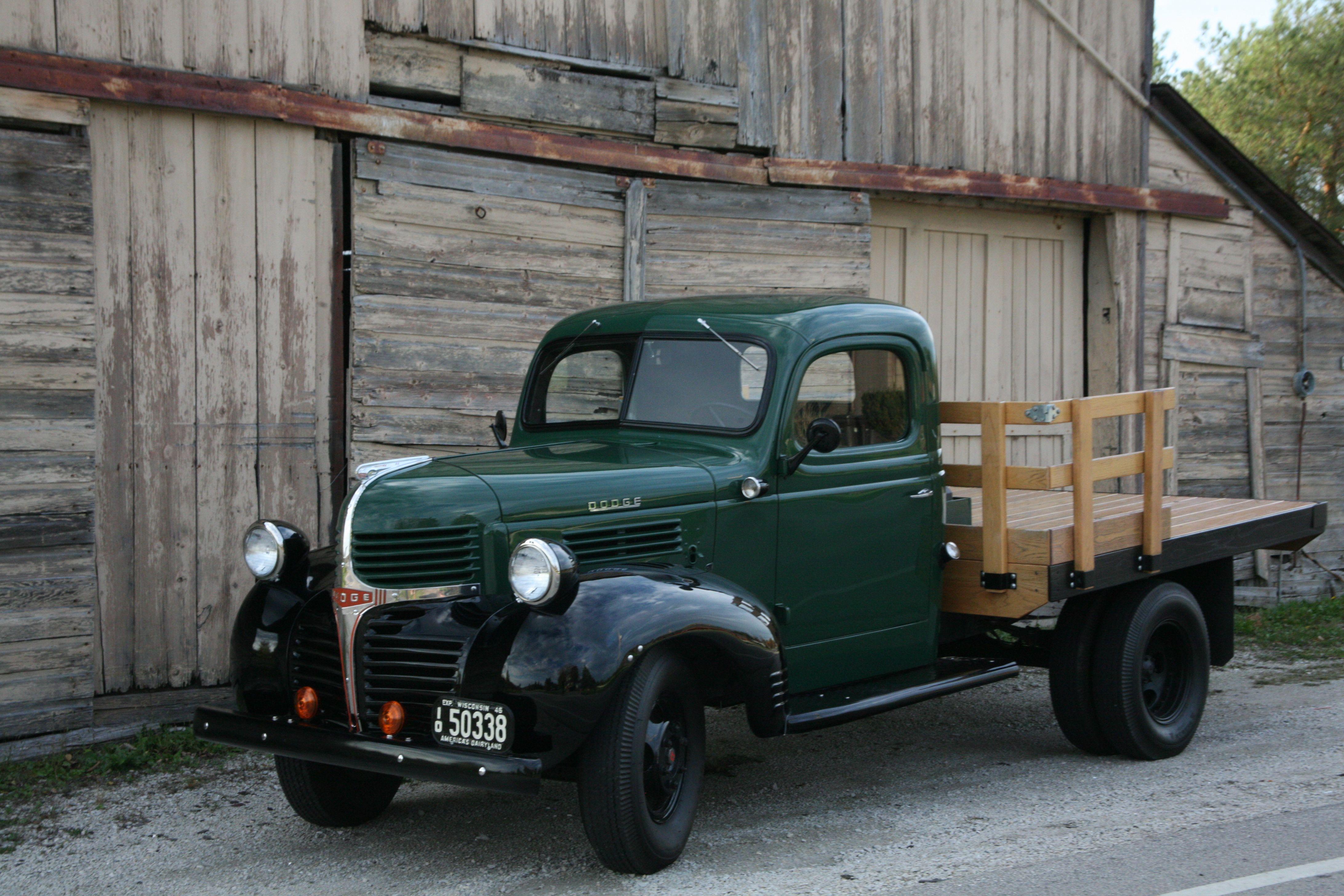46 Dodge Flatbed | 1946 Dodge Truck/47 Ford Truck | Pinterest ...
