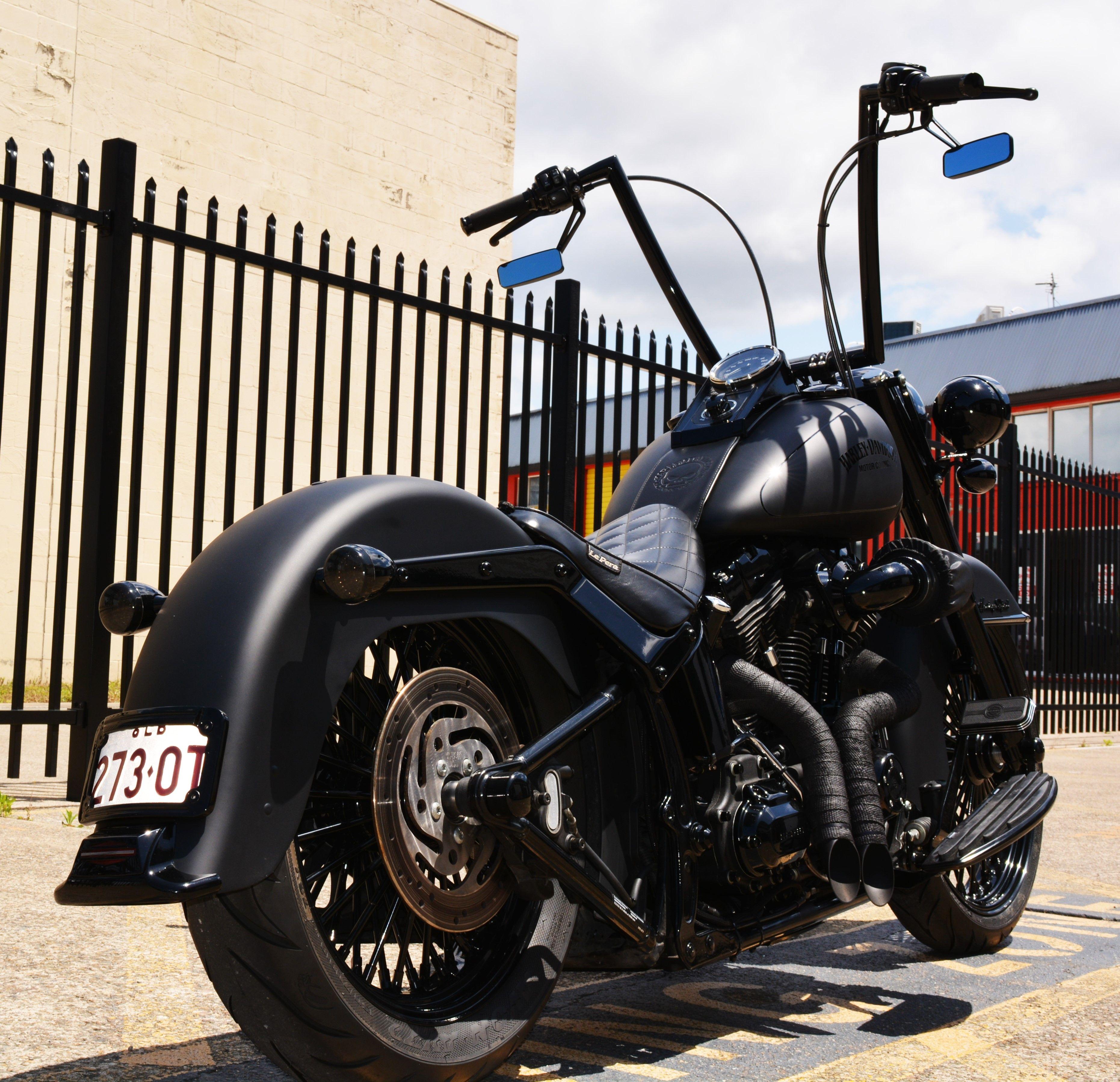 Harley Davidson & Motorcycles panosundaki Pin