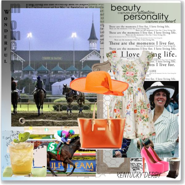 """""""Kentucky Derby"""" by megalomaniac13 ❤ liked on Polyvore"""