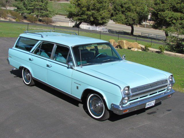 1965 Amc Ambassador 990 327 Station Wagon For Sale Station Wagon