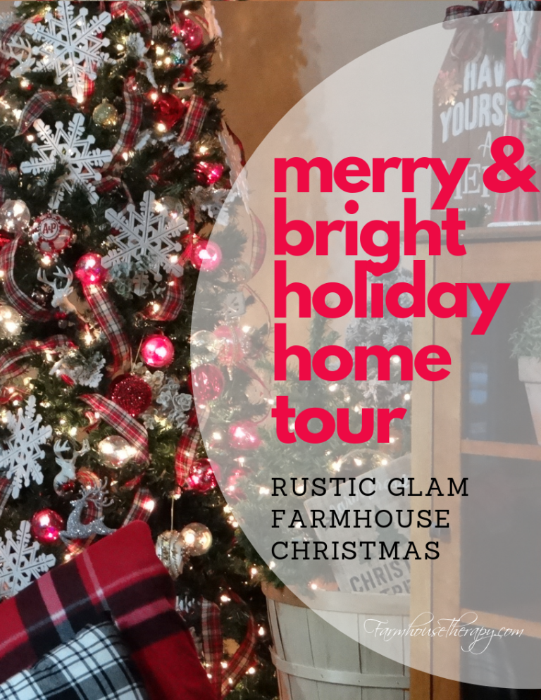I Hope You Ll Join Me And A Talented Group Of Ladies For The Merry Bright Holiday Home Tour You Re Welcome Anyti Merry And Bright Glam Christmas Rustic Glam