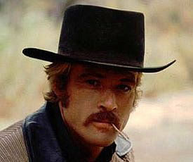 Robert Redford in Butch Cassidy and the Sundance Kid