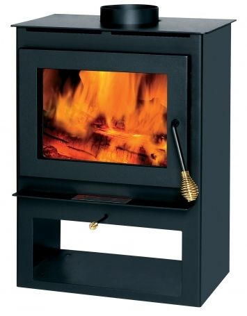 Englander Tranquility With The Brass Spring Handle Kit Option With Images Englander Wood Stove Small Wood Stove Wood Stove