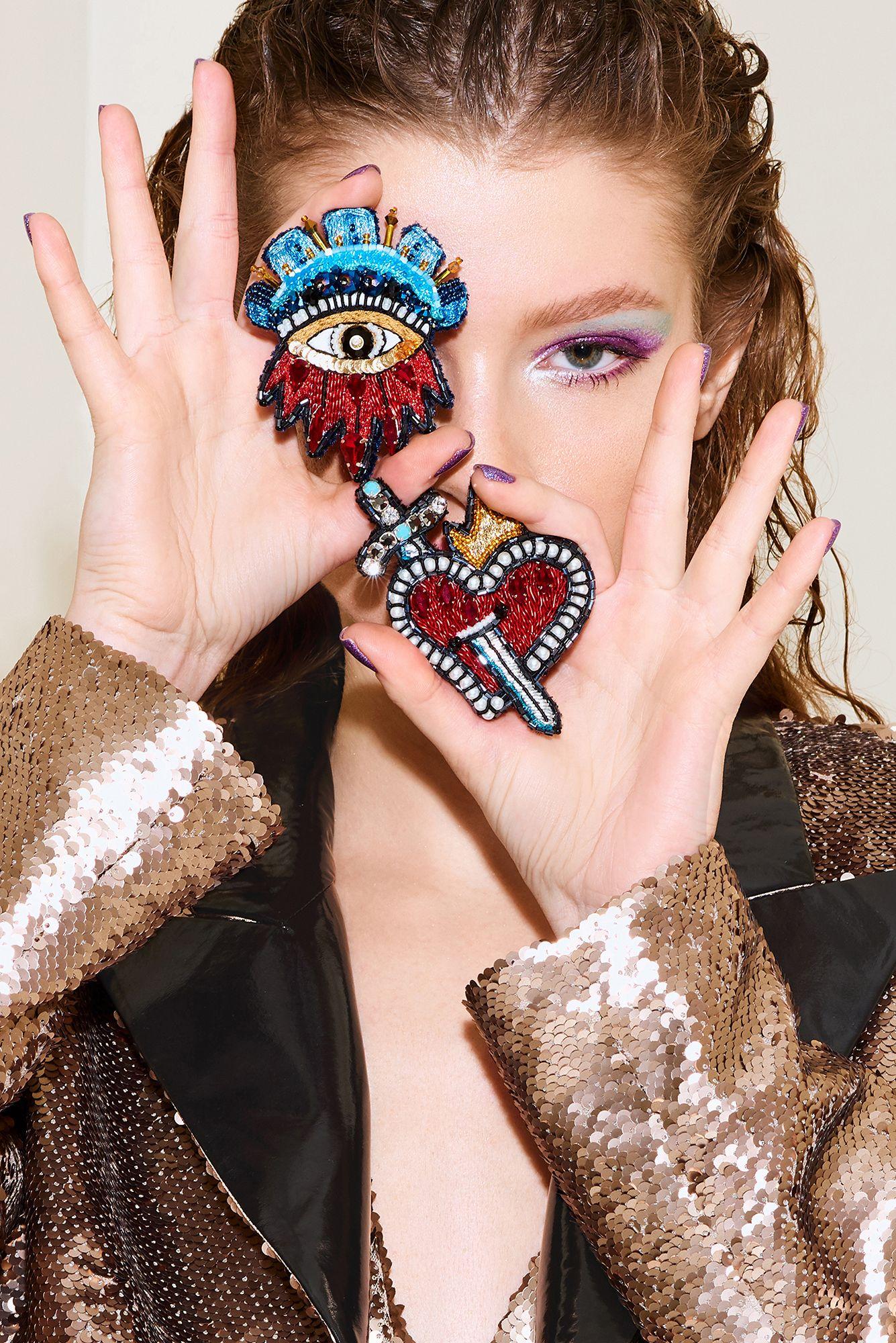 Fashion accessories for women lada legina designer