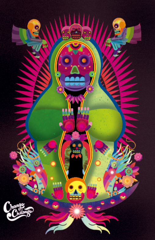 Holly Dead-Cihuateteo-Chocacihuatl-Chocani-Coatlicue on Behance