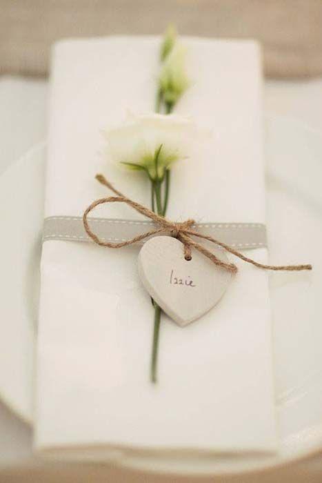 Segnaposto Matrimonio Romantico Cuore Segnaposto Matrimonio Fai Da Te Biglietti Di Nozze Segnaposti Matrimonio