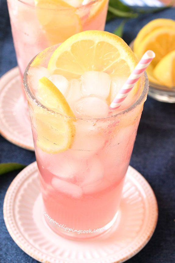Pink Lemonade with Pomegranate Juice | Coupon Clipping Cook® #pinklemonade