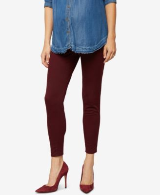 0548dd8957f3e A Pea In The Pod Maternity Skinny Pants - Red XS | Products ...