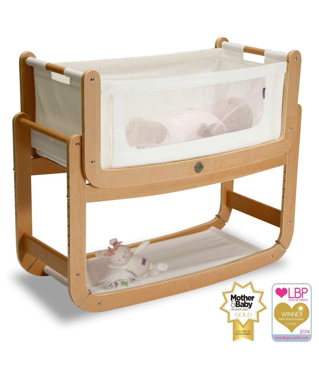 Baby crib vs cot - Snuzpod 3 In 1 Bedside Crib Natural Cot Beds Cots Cribs