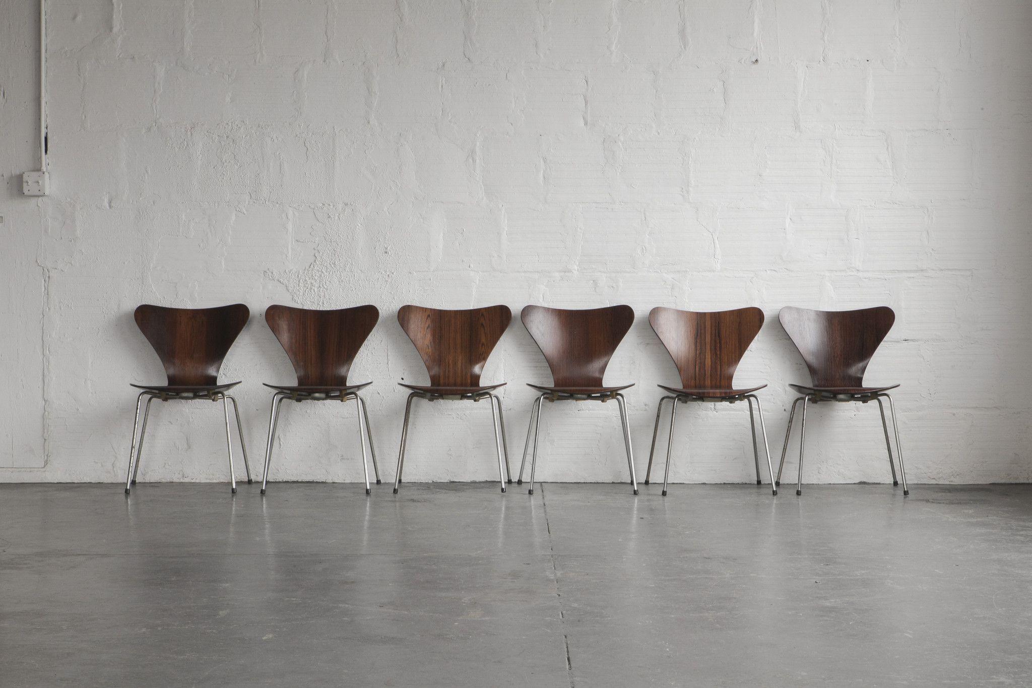 Arne Jacobsen Series 7 Dining Chairs Furniture Pinterest
