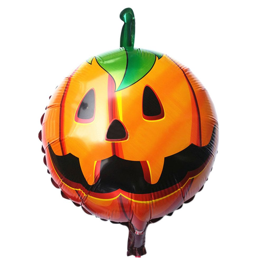 New Halloween pumpkin head Decorative Foil Balloons Suitable for - halloween decorations for the office