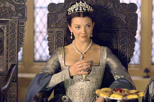 Natalie Dormer as Anne Boleyn in The Tudors. Totally loved all of her costumes