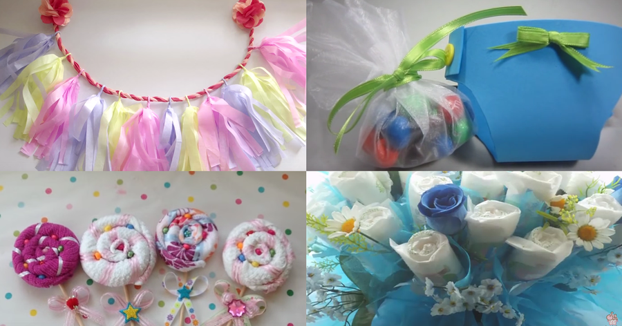 15 Ideas Para Tu Fiesta De Baby Shower | Manualidades