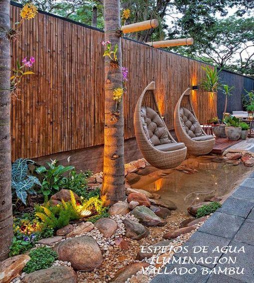 DECK CERRAMIENTO PASTO CASCADAS JARDIN en Tandil - Región 20 - cascadas en jardines