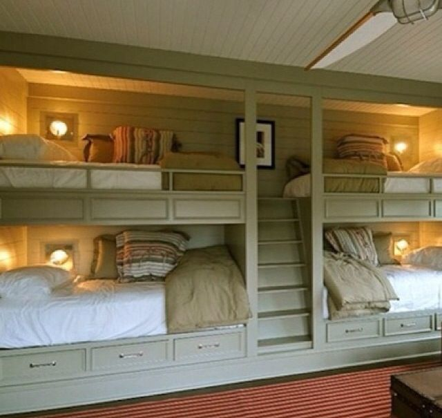 Shared Bedroom Ideas For Adults: Shared Spaces + Bunk Bed Ideas