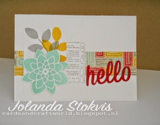 My Card and Craftworld, Stampin'Up!, Crazy About You