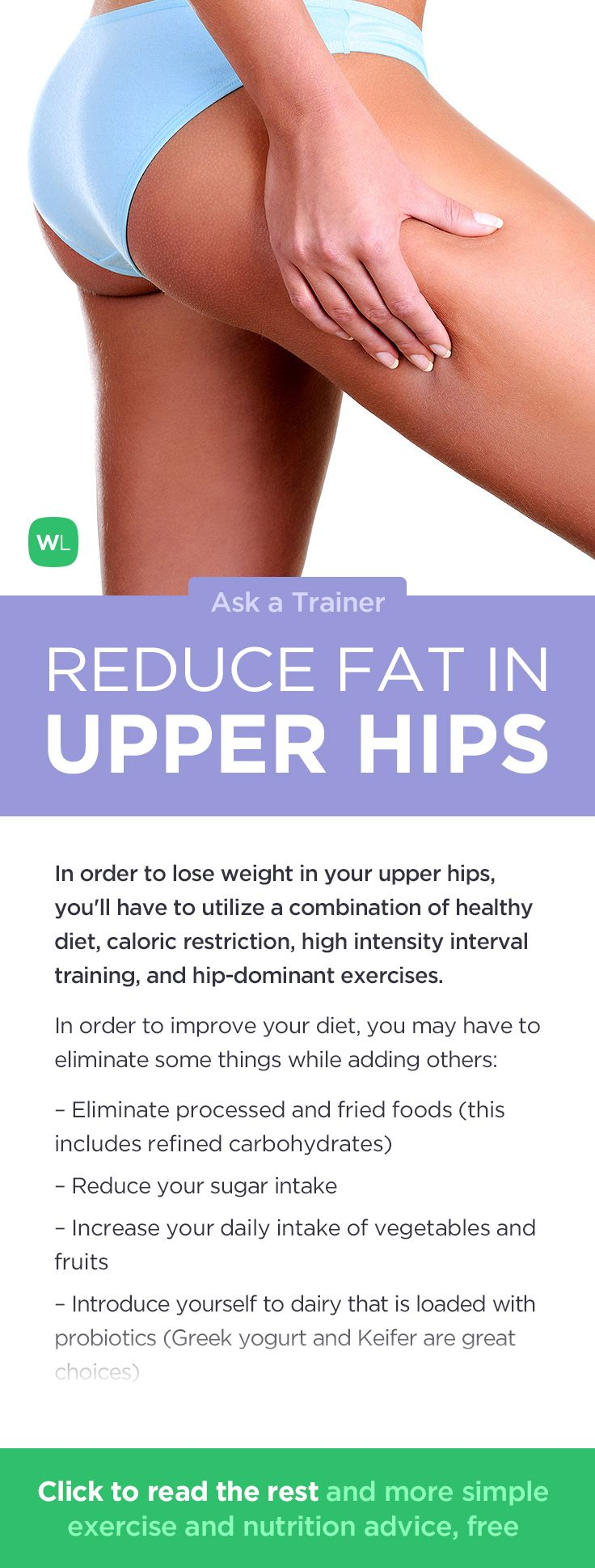 tips to reduce upper body fat
