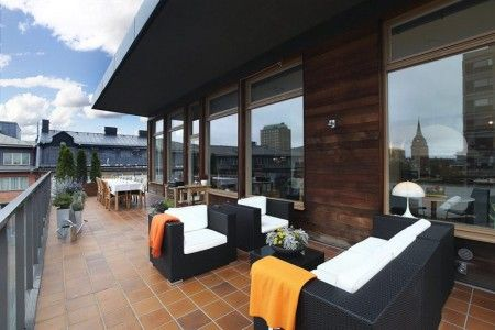 Muebles decoracion terrazas aticos dise o de interiores for Decoracion terrazas aticos