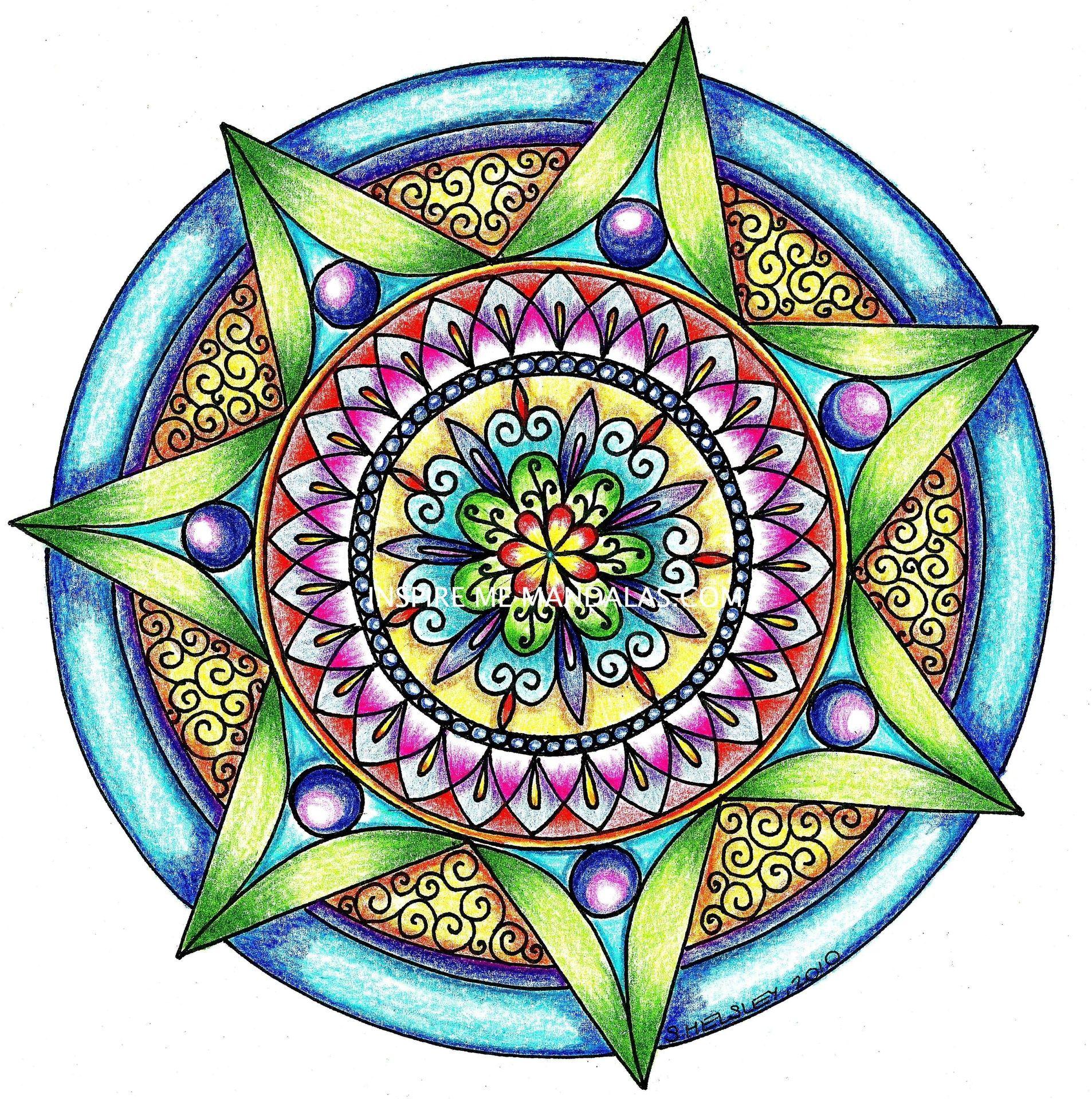 Color art mandala wonders - Color Art