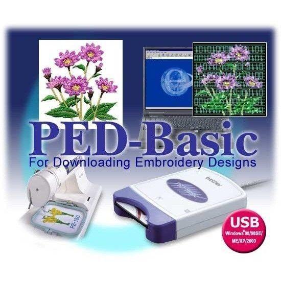 Brother Ped Basic Emb Designs Transfer Box 4mb Blank Card Writer