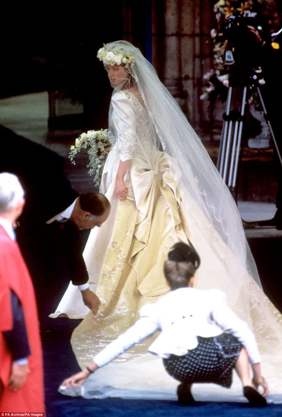 A look back at the day Prince Andrew married flamehaired