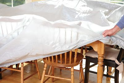 remodeling / renovation protective furniture covers