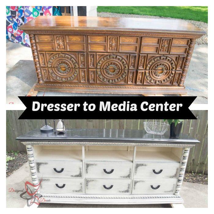 Dresser to Media Center