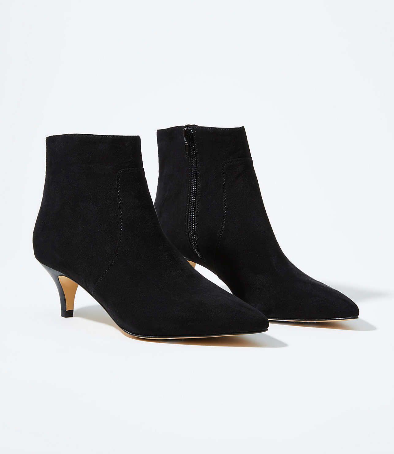 Kitten Heel Ankle Boots Loft Kitten Heel Ankle Boots Boots Heels