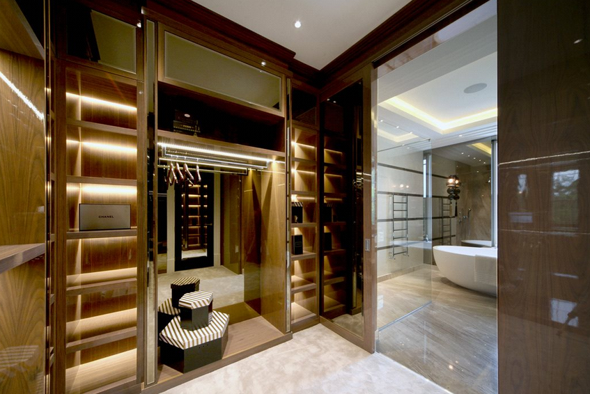 mansion master closet. £10.95 Million 12,000 Square Foot Newly Built Mansion In Surrey, England   Homes Of · Master ClosetSquare Closet T