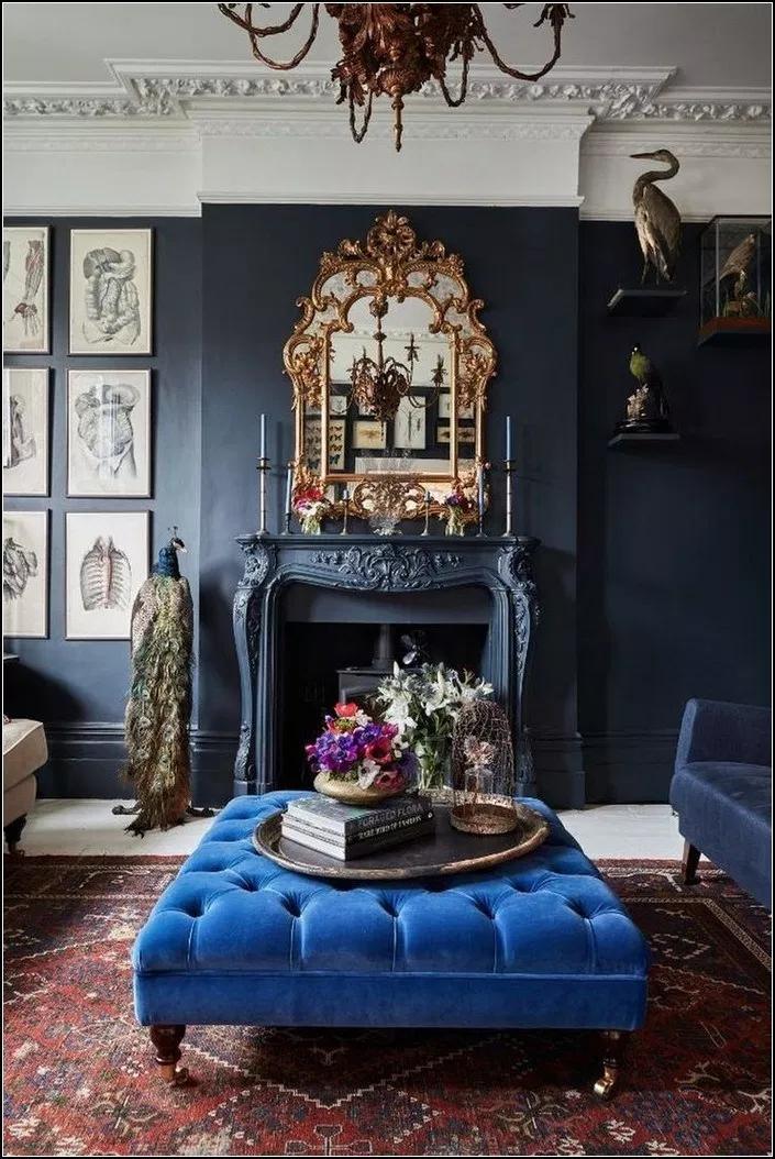 110 Mind Blowing Eclectic Interior Design Ideas 7 Blue Interior