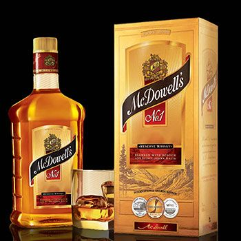 Guinness Nigeria To Distribute Mcdowell S No 1 Rum Bottle Whiskey Brands Whisky
