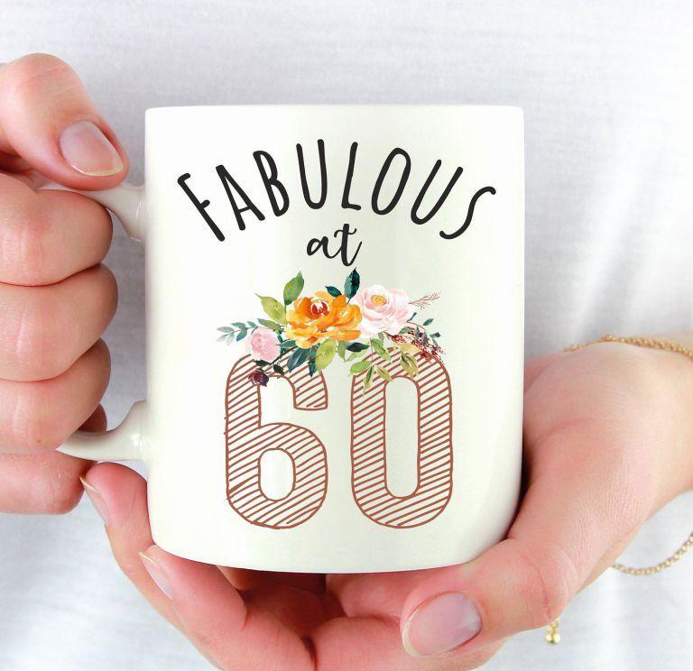 60th Birthday Present Ideas Good Fabulous at 60 Birthday