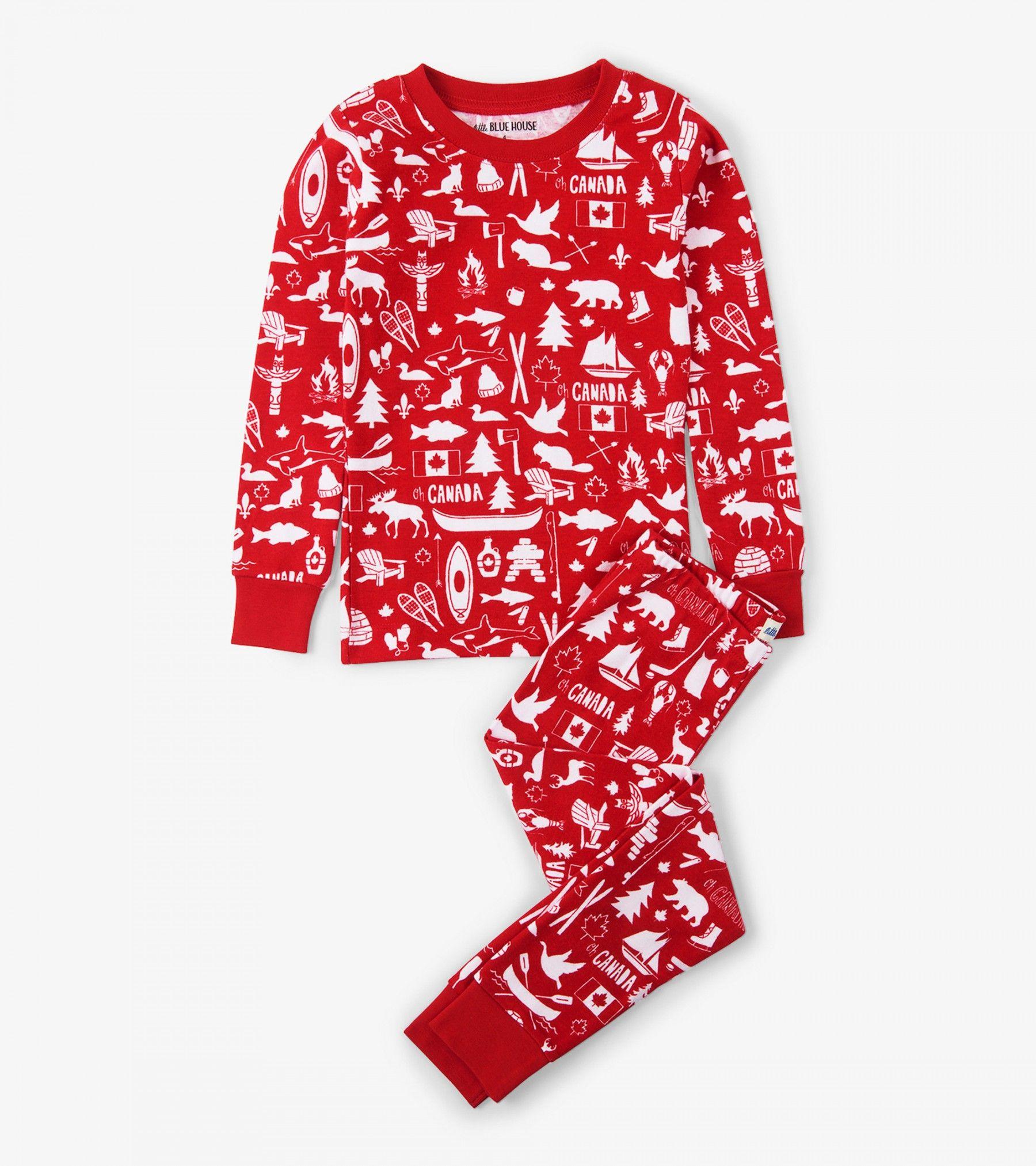 Oh Canada Kids Pajama Set Pajamas Categories Kids