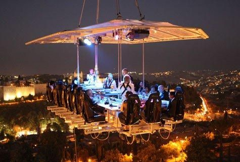 Restaurant Quot Dinner In The Sky Quot In Johannesburg Let Me