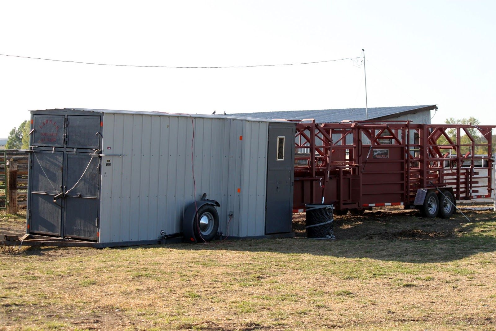 Portable Livestock Barns : Success is reason enough what s in our breeding barn