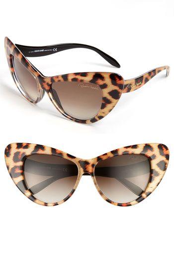 2126b7f0ff394 Roberto Cavalli 58mm Retro Sunglasses