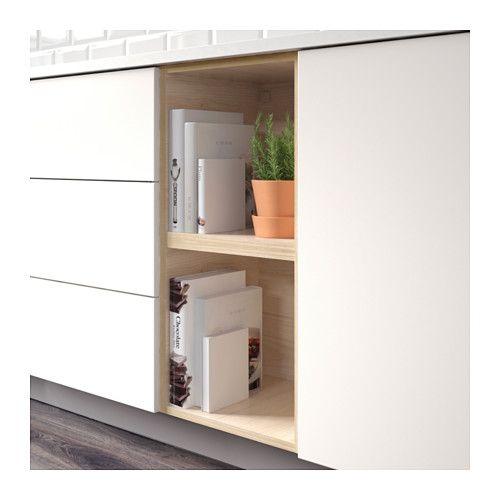 ТУТЕМО Открытый шкаф, ясень Kitchens and Room